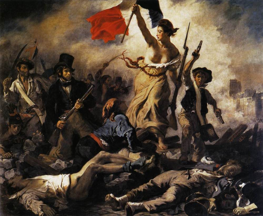 Liberty-Leading-the-People-by-Eugene-Delacroix-